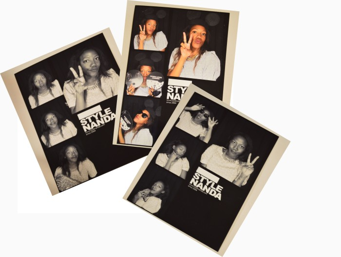 Style Nanda photo booth