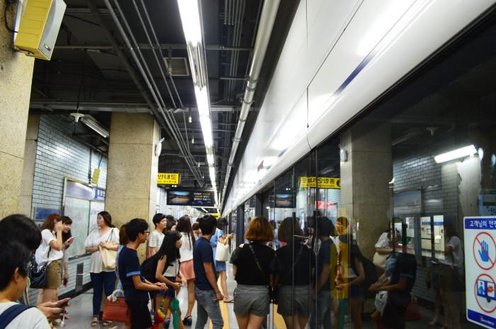 Metro in Seoul