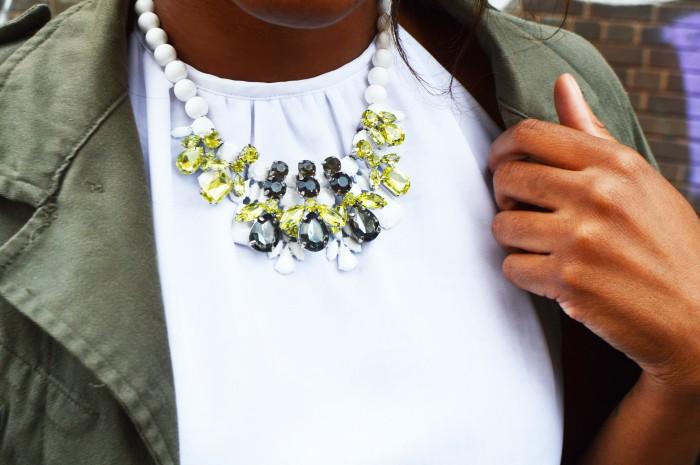 statement baroque necklace