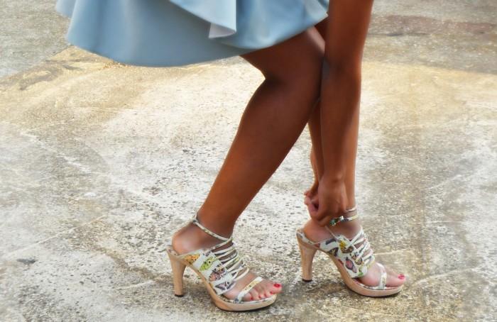 vintage butterfly heels