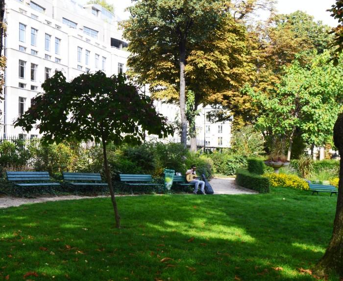 Place de Balzac Paris 8eme