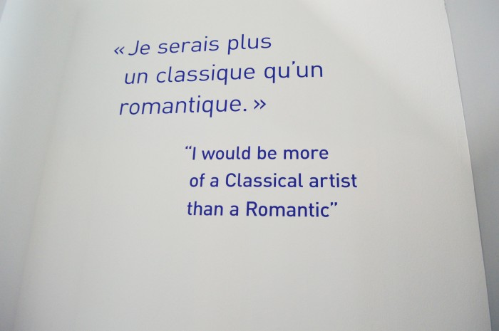 Roy Lichtenstein Centre Pompidou Paris quote