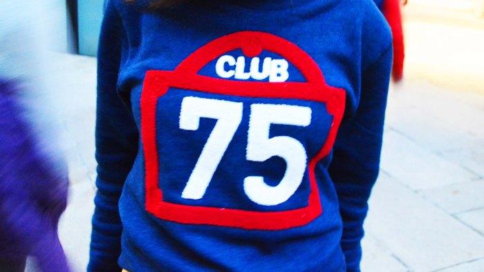 Club 75 for BWGH sweatshirt